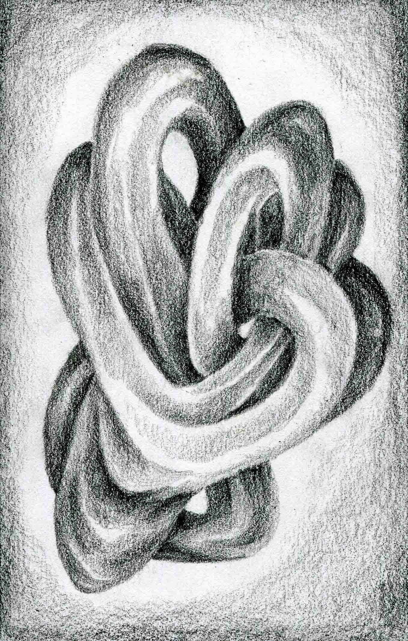 organic form drawings | automatic drawing series by lurm