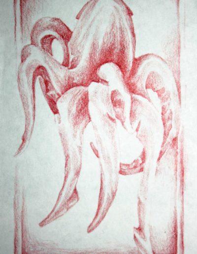 organic form: octopus