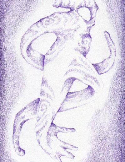 organic form: twisted arm
