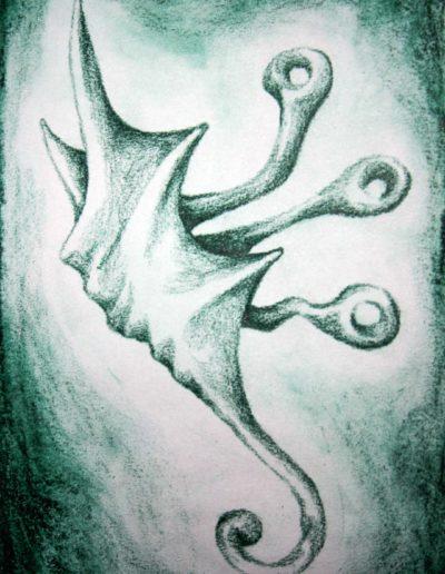 organic form: snail alien