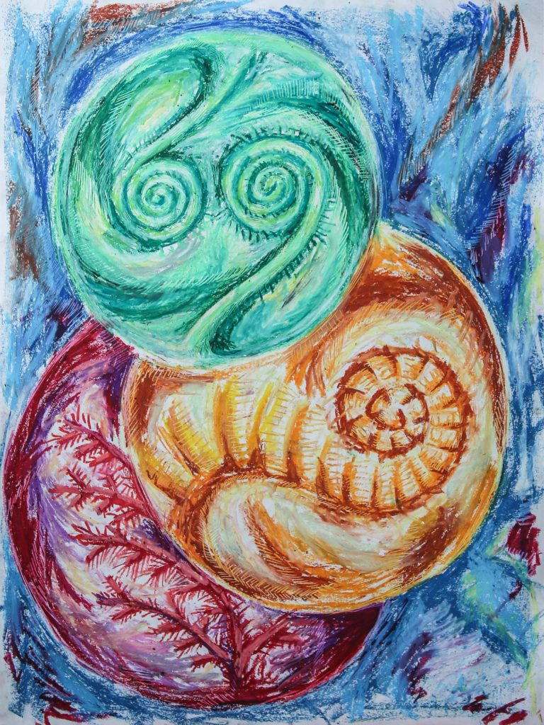 mind fern (drawing by lurm)